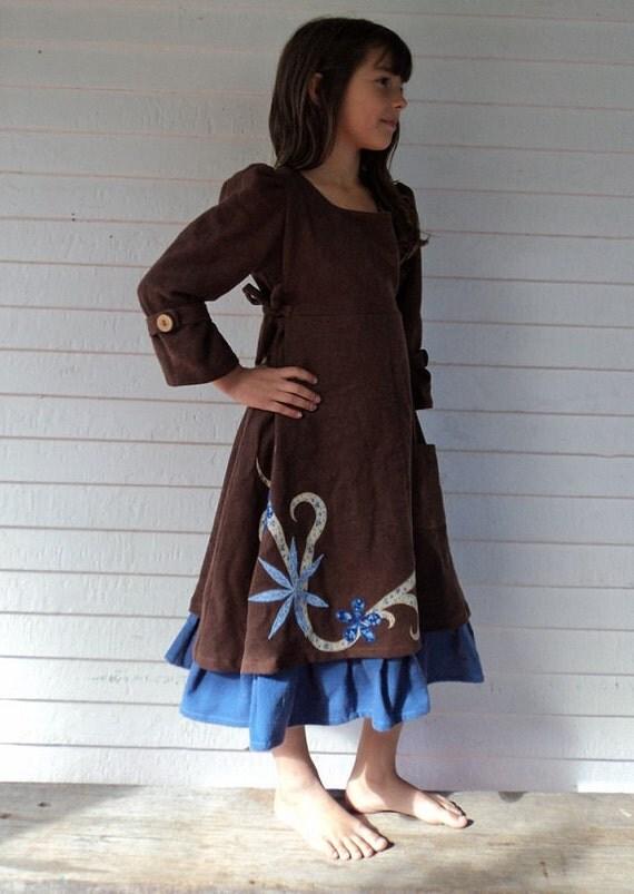 Girl's Autumn Dress