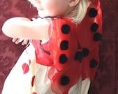 2 QT Ladybug Wings - XSmall