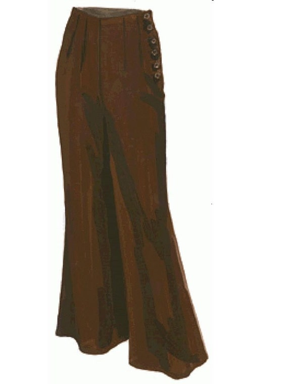 Women Black Silk Wide Leg High Waist Palazzo Pants Slim Trousers Dressy Casual.