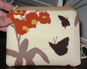 Zipper Pouch- Joel Dewberry orchid