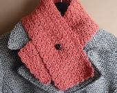 Wool blend scarflette
