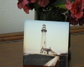 Lighthouse Photograph 5x5 Mini-Print Tabletop Decor