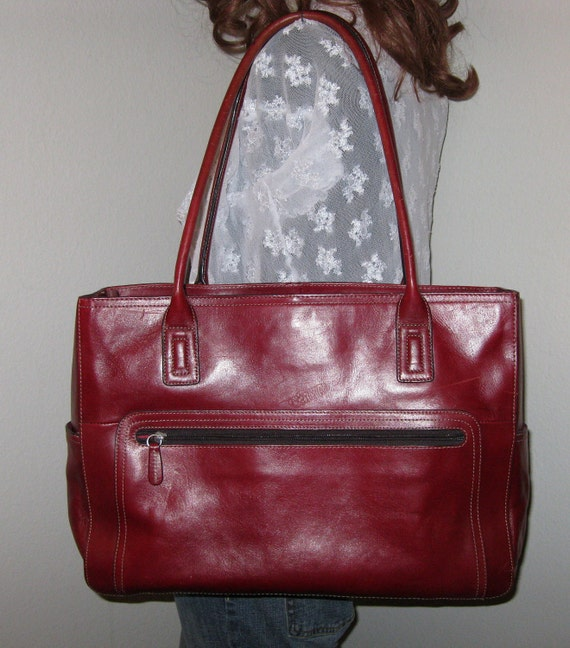 Fossil Padded Laptop Bag Ex Large Business Tote By BagsBabylon