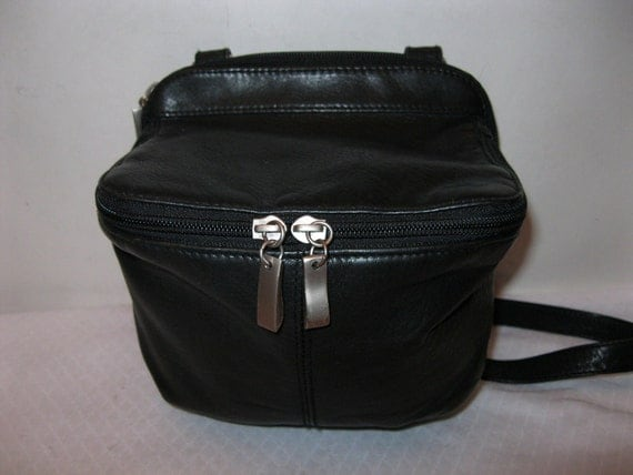 The Waking Co  sling bag purse-organizer in gorgeous thick genuine leather