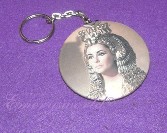 Elizabeth Taylor as Cleopatra 2.25 inch Key Chain