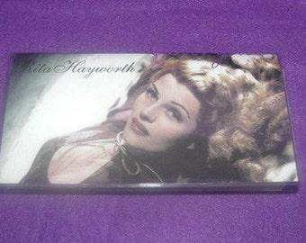 Rita Hayworth Check Book Cover