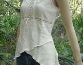 Organic Cotton Tunic Top