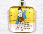 Shake Your Groove Thing Pendant BUY THREE GET ONE FREE SALE