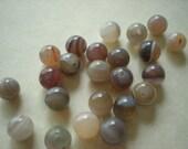 Botswana Agate - 8 mm beads