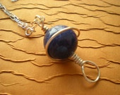 Sodalite Orb Necklace...
