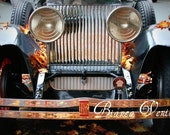 Reserved Listing for notyourmom - 4x6 Rustic Rolls Royce - Glossy