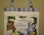 Reusable Market Bags - Large Canvas - Eco Friendly - Blue in color but Green at Heart