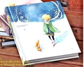 Le Petit Prince Hardcover Notebook Journal With Stickers