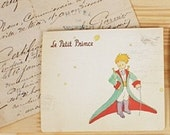 Sweet Le Petit Little Prince Small Postcard Greeting Card