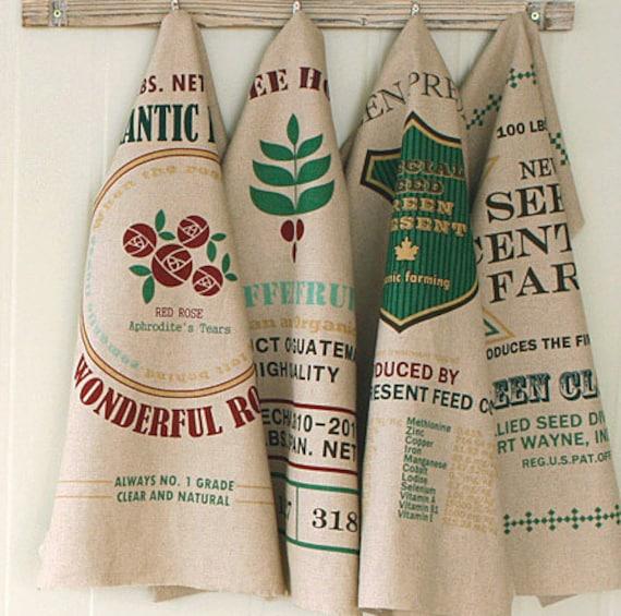 Cotton Linen Fabric - Retro Beige Seed Floral Flower Rose Garden Cushion Pillow Fabric Cloth 4 Panels