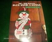 Plastic Canvas Mr. Snowman Leisure Arts 1255 Peatman for Luvlee Plastic Canvas Pattern Leaflet