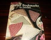 Crocheted Book Marker Patterns Corner Bookmarks Leisure Arts 2749 Crochet Pattern Leaflet