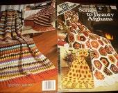 Crochet Afghan Patterns Crocheted Scraps to Beauty Afghans Leisure Arts 163 Pattern Leaflet
