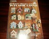 Fridgie Plastic Canvas Friendly Village Magnets Leisure Arts 1289 Kooler Designs Pattern Leaflet
