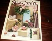 Plastic Canvas Pattern Rose Garden Needlecraft Shop 90PH8 Plastic Canvas Pattern Leaflet Sandra Miller Maxfield