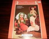 Crochet Doll Clothing Crocheting Pattern Coral Mermaids Fibre Craft FCM 204