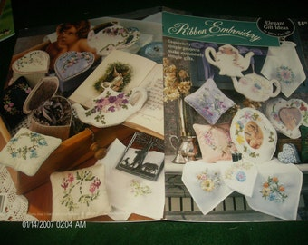 Embroidery Patterns Elegant Gift Ideas Ribbon Embroidery Bucilla Pattern Leaflet