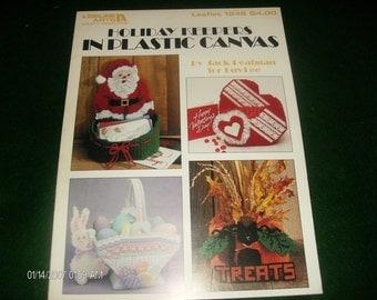 Christmas Plastic Canvas Holiday Keepers Leisure Arts 1246 Peatman Plastic Canvas Pattern Leaflet