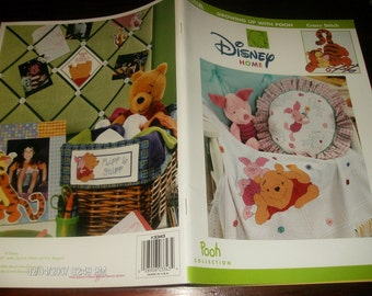 Counted Cross Stitch Charts Growing Up With Pooh Leisure Arts 3343 Disney Counted Cross Stitch Leaflet