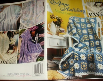 Crocheting Patterns Anne Halliday Afghan Collections Leisure Arts 3393 Crochet Pattern Booklet
