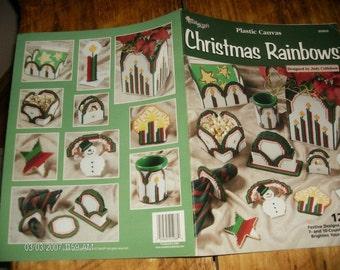 Plastic Canvas Patterns Christmas Rainbows Needlecraft Shop 203033 Plastic Canvas Pattern Leaflet