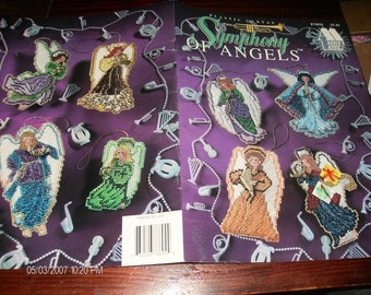 Plastic Canvas Patterns Symphony of Angels Annie's Attic 878604 Plastic Canvas Pattern Leaflet