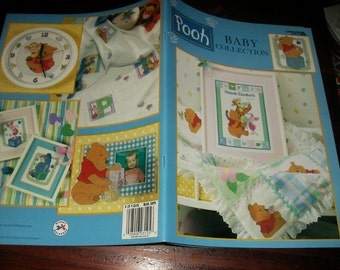 Cross Stitch Charts Winnie the Pooh Baby Collection Leisure Arts 3125 Counted Cross Stitch Leaflet