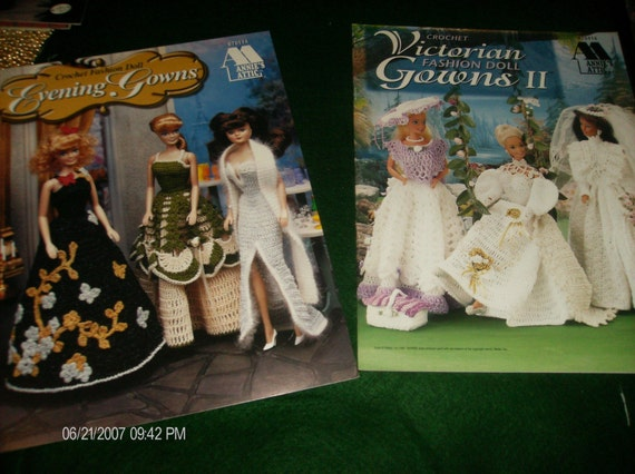 Victorian Fashion Doll Gowns II and Fashion Evening Gowns