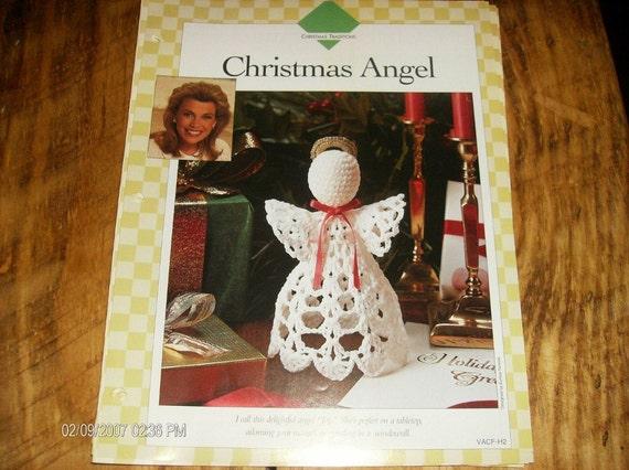 Thread Crochet Pattern Christmas Angel Vanna White Binder Pattern Christmas Traditions Crocheting Pattern