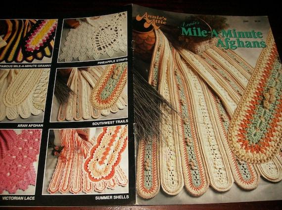 Afghan Crochet Patterns Mile A Minute Afghans Annie S