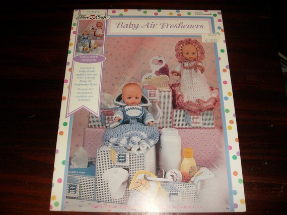 Crochet Patterns Baby Air Freshener Doll Crocheting Patterns Fibre Craft FCM474