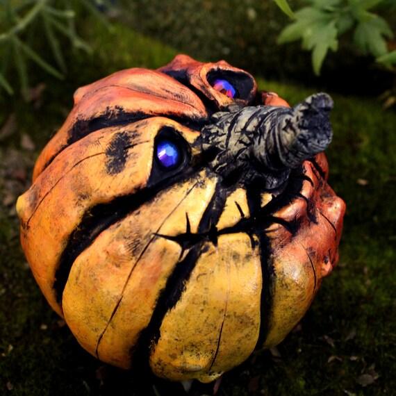 Jack O'Lantern Halloween Decoration, Nandita the Happy Pumpkin