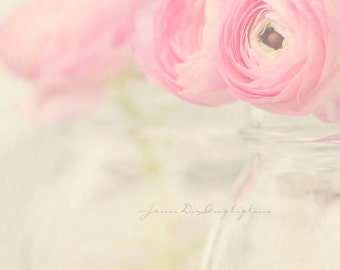 Flower Fine art Photography, Pink rose garden for her, Pink pastel Valentine.