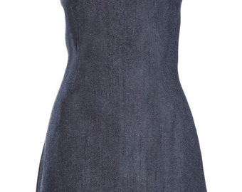 Denim Dress- Strapless