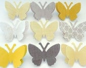 3D - Paper Butterfly Push Pins - Saint Jean-de-Luz  - Made To Order - As Seen In Charleston, SC  Weddings Magazine Winter 2011