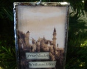 German (Merry Christmas) soldered ornament