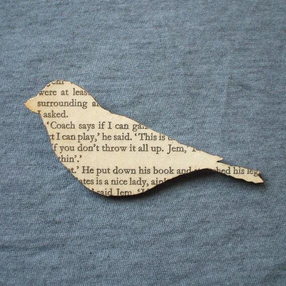 To Kill a Mockingbird - Finch brooch
