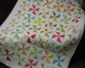 Heather Bailey Pinwheel Quilt