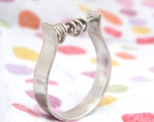 Abacus Ring-sterling silver