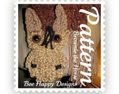 Instant PDF - Brownie the Horse Scarf Knitting Board Pattern