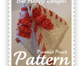 Instant PDF - Pyramid Pouch Crochet Pattern