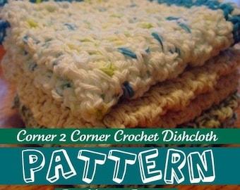 PDF - Crochet Dishcloth Pattern