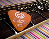 Dancing with Myself Guitar Pick Necklace