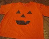 Glow in the dark Jack-O-Lantern Short Sleeve T-Shirt