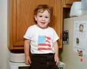 American Flag creeper or T shirt